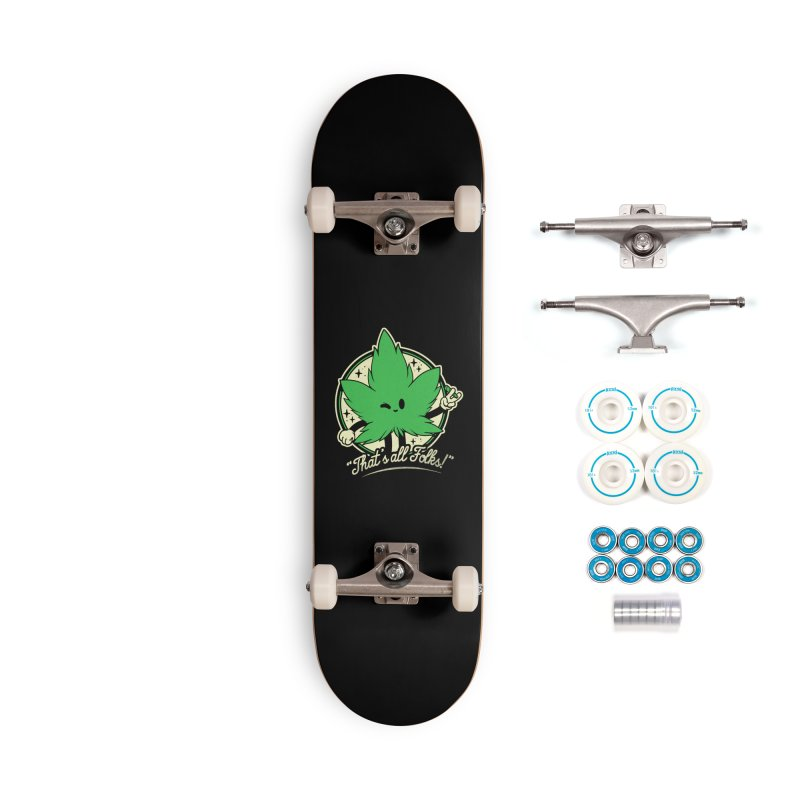 That's all Folks! Accessories Complete - Basic Skateboard by ilustrata