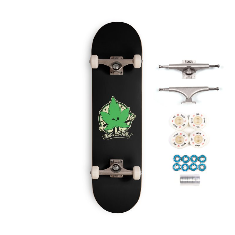 That's all Folks! Accessories Complete - Premium Skateboard by ilustrata