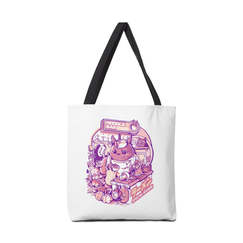 My neighbor noodle bar Accessories Tote Bag Bag by ilustrata