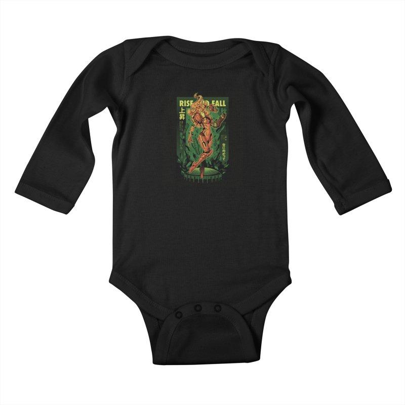 S journey Kids Baby Longsleeve Bodysuit by ilustrata