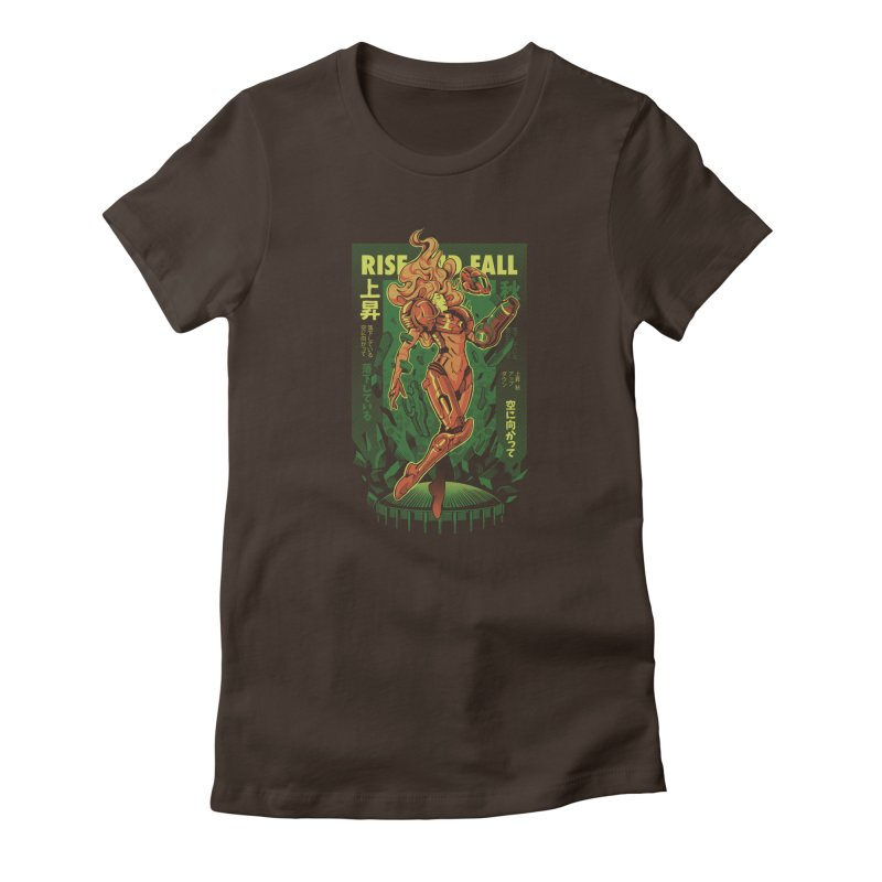 S journey Women's Fitted T-Shirt by ilustrata