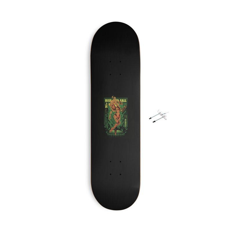 S journey Accessories With Hanging Hardware Skateboard by ilustrata