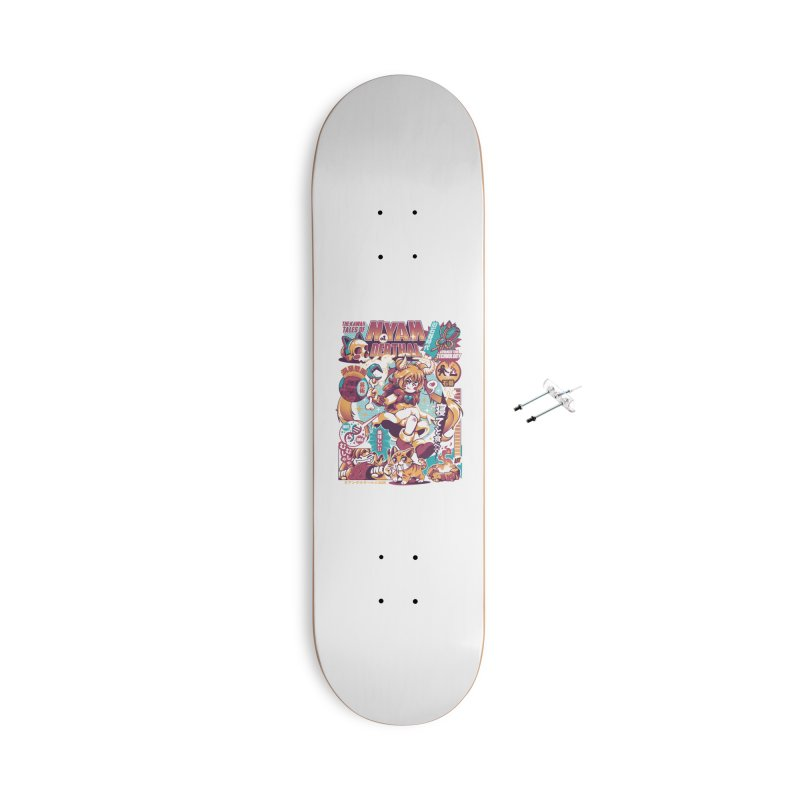 NYANderthal Accessories With Hanging Hardware Skateboard by ilustrata
