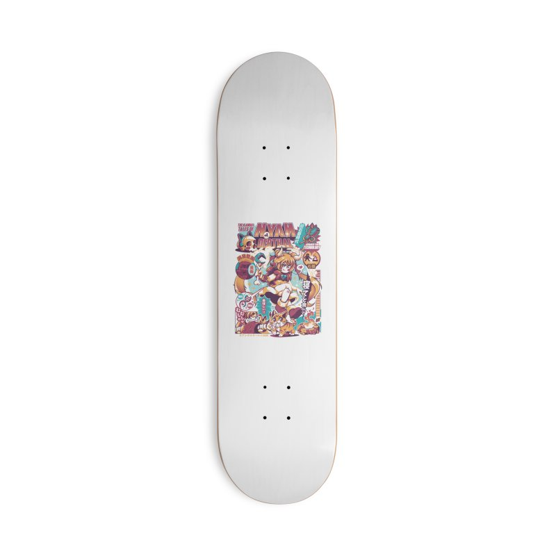 NYANderthal Accessories Deck Only Skateboard by ilustrata