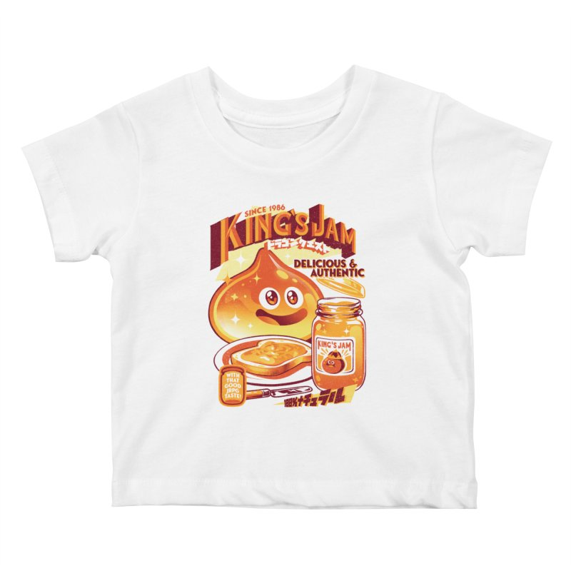 Slime Jam Kids Baby T-Shirt by ilustrata