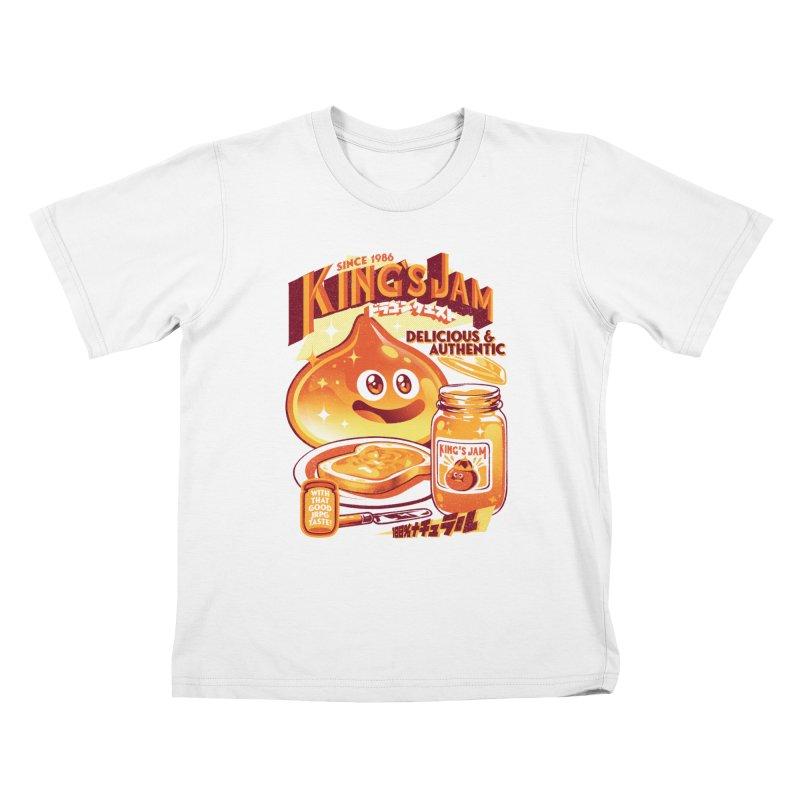 Slime Jam Kids T-Shirt by ilustrata