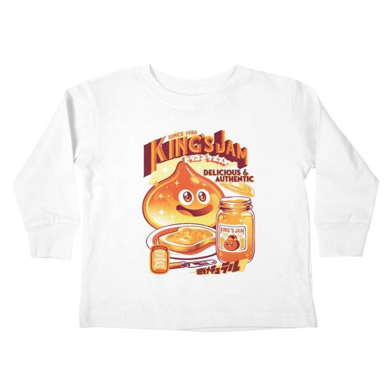 Slime Jam Kids Toddler Longsleeve T-Shirt by ilustrata