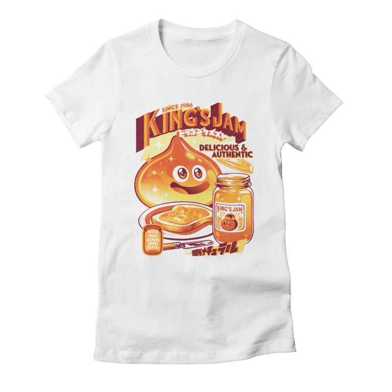 Slime Jam Women's Fitted T-Shirt by ilustrata