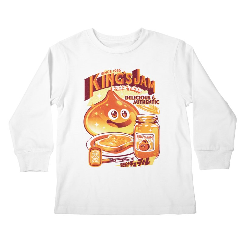 Slime Jam Kids Longsleeve T-Shirt by ilustrata