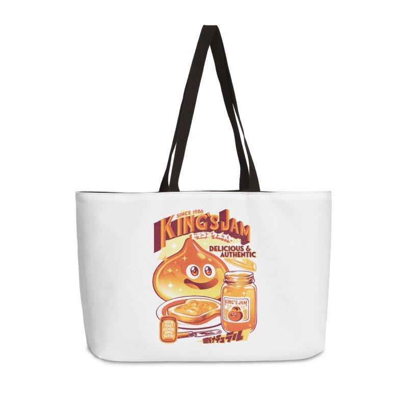 Slime Jam Accessories Weekender Bag Bag by ilustrata