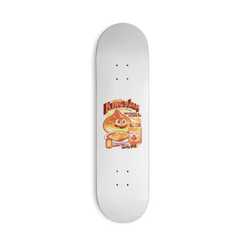 Slime Jam Accessories Deck Only Skateboard by ilustrata