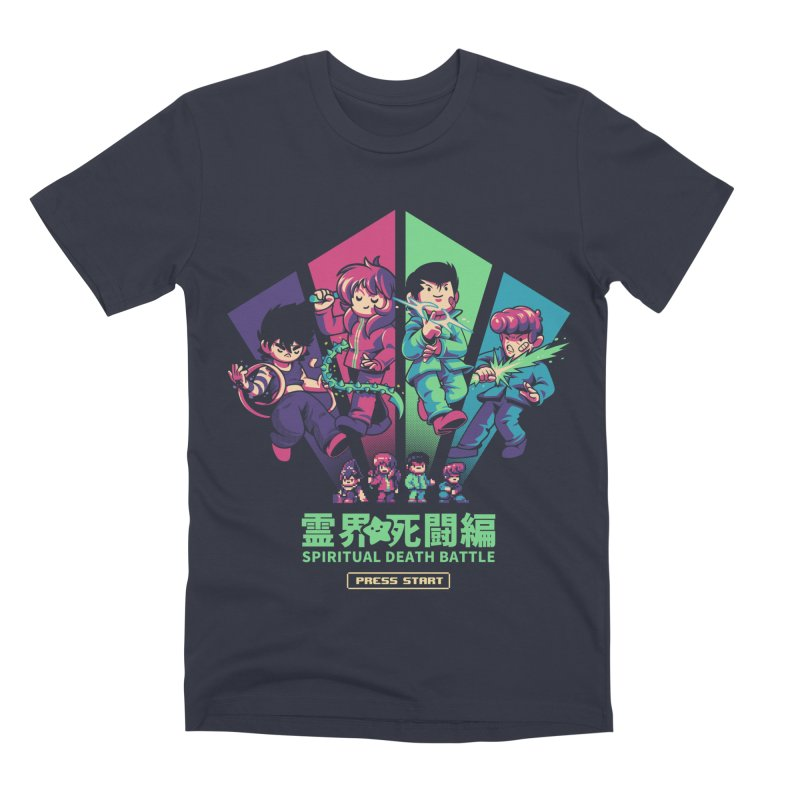 Spiritual Battle Men's Premium T-Shirt by ilustrata