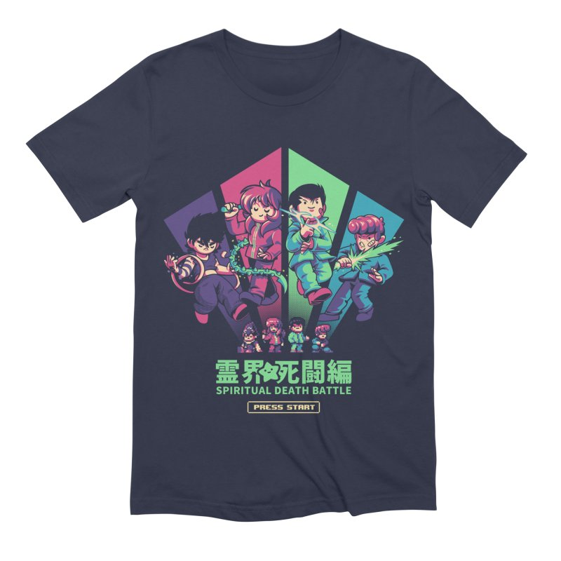 Spiritual Battle Men's Extra Soft T-Shirt by ilustrata