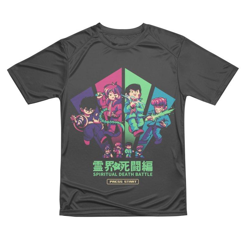 Spiritual Battle Men's Performance T-Shirt by ilustrata