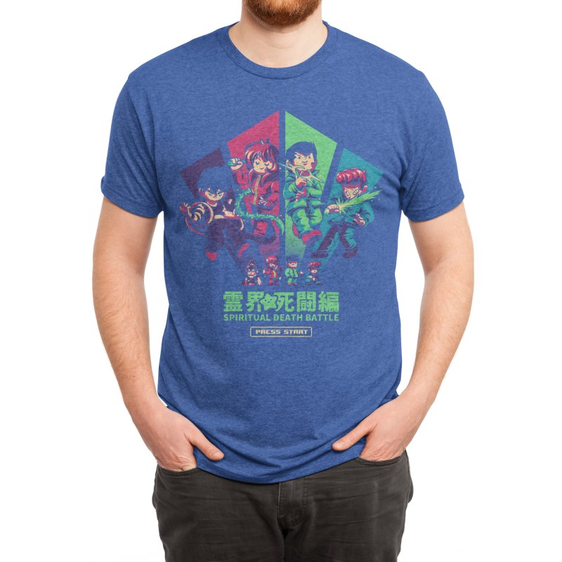 Spiritual Battle Men's T-Shirt by ilustrata