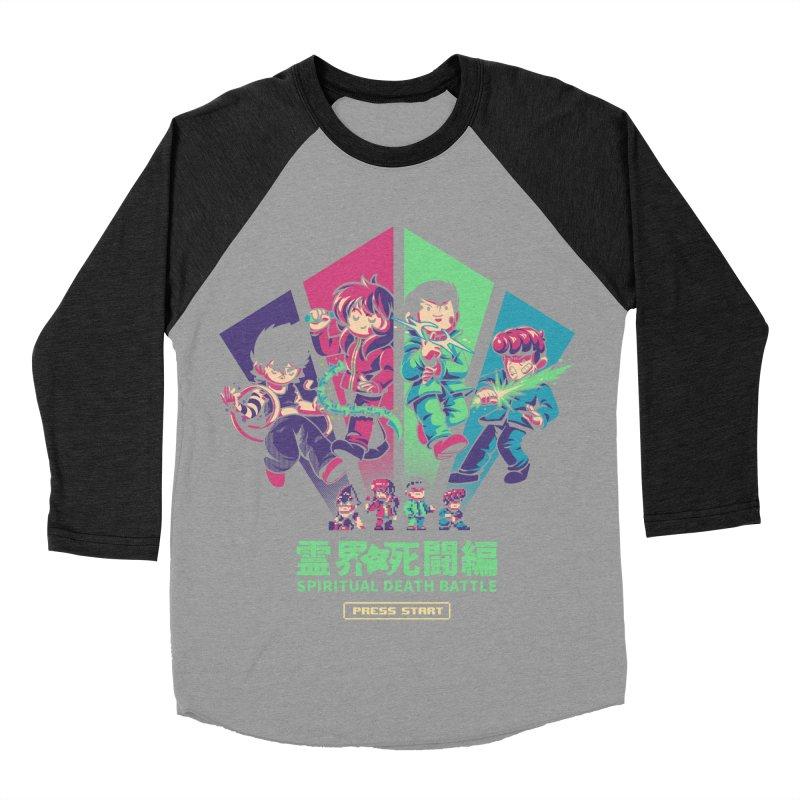 Spiritual Battle Men's Baseball Triblend Longsleeve T-Shirt by ilustrata