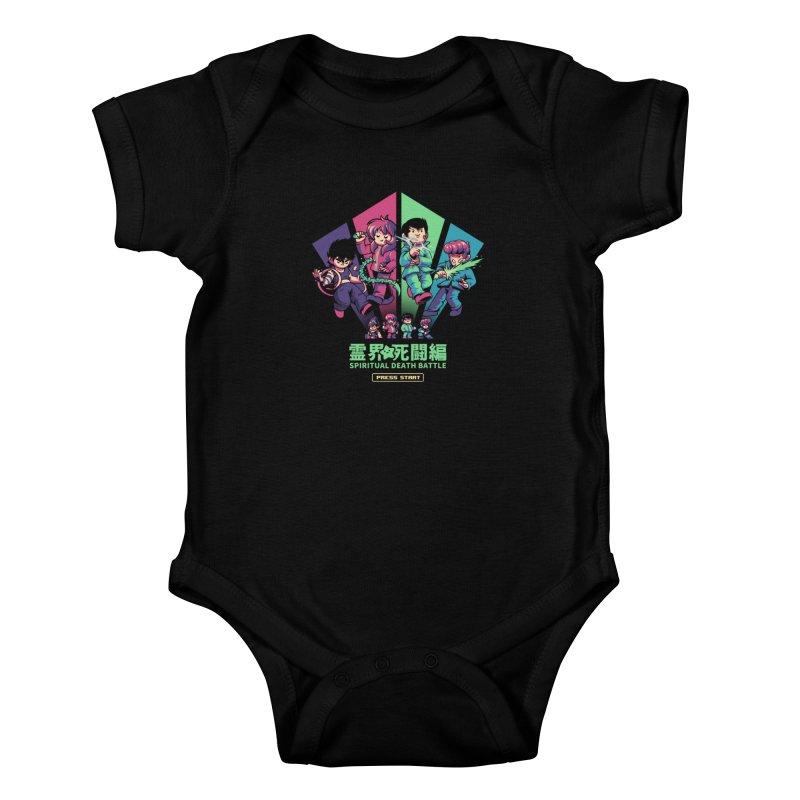Spiritual Battle Kids Baby Bodysuit by ilustrata