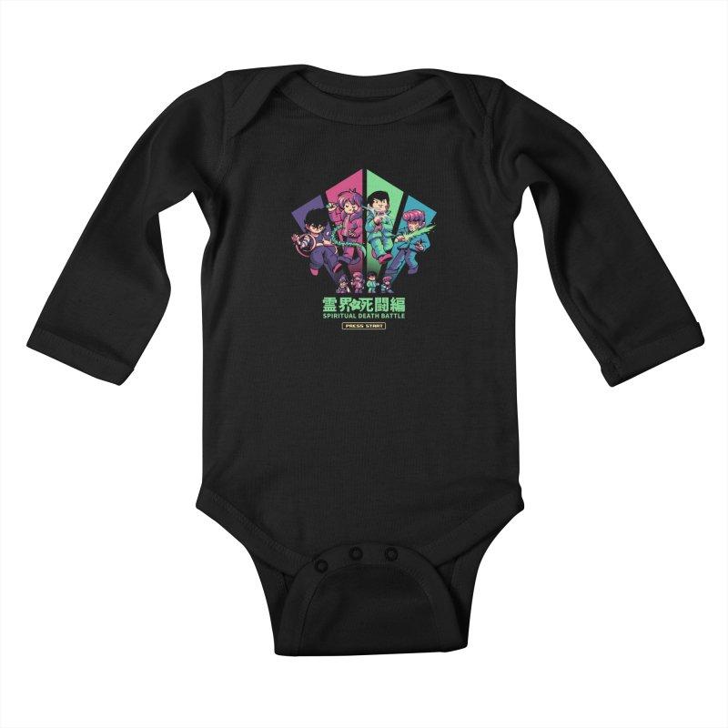 Spiritual Battle Kids Baby Longsleeve Bodysuit by ilustrata