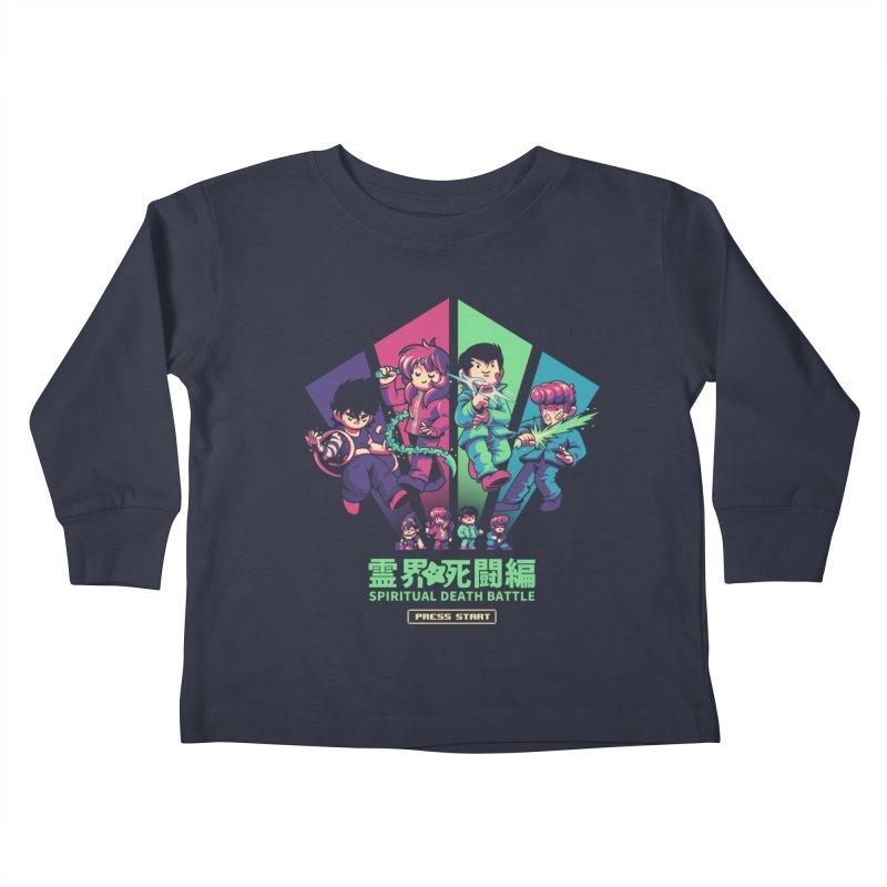 Spiritual Battle Kids Toddler Longsleeve T-Shirt by ilustrata