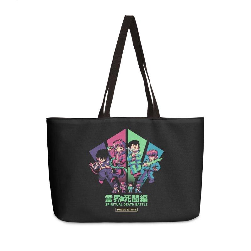Spiritual Battle Accessories Weekender Bag Bag by ilustrata