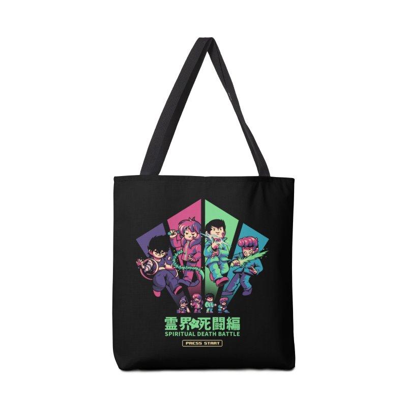 Spiritual Battle Accessories Tote Bag Bag by ilustrata