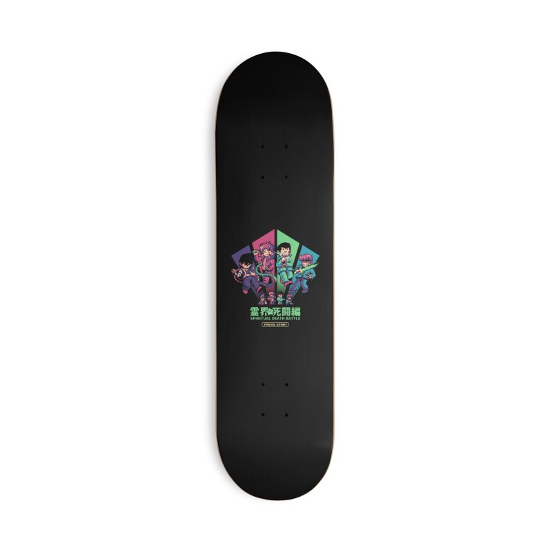 Spiritual Battle Accessories Deck Only Skateboard by ilustrata