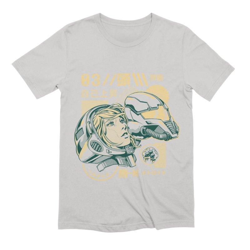 S-head v2 Men's Extra Soft T-Shirt by ilustrata