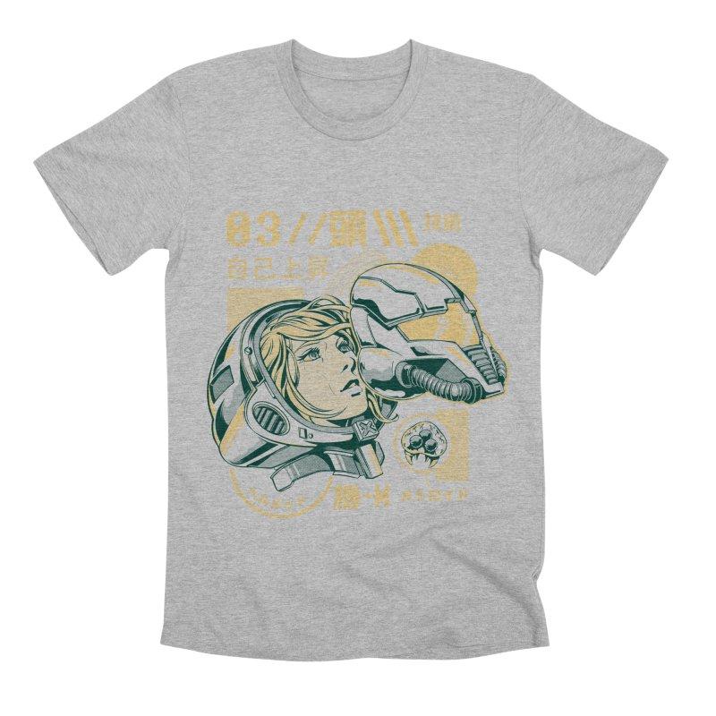S-head v2 Men's Premium T-Shirt by ilustrata