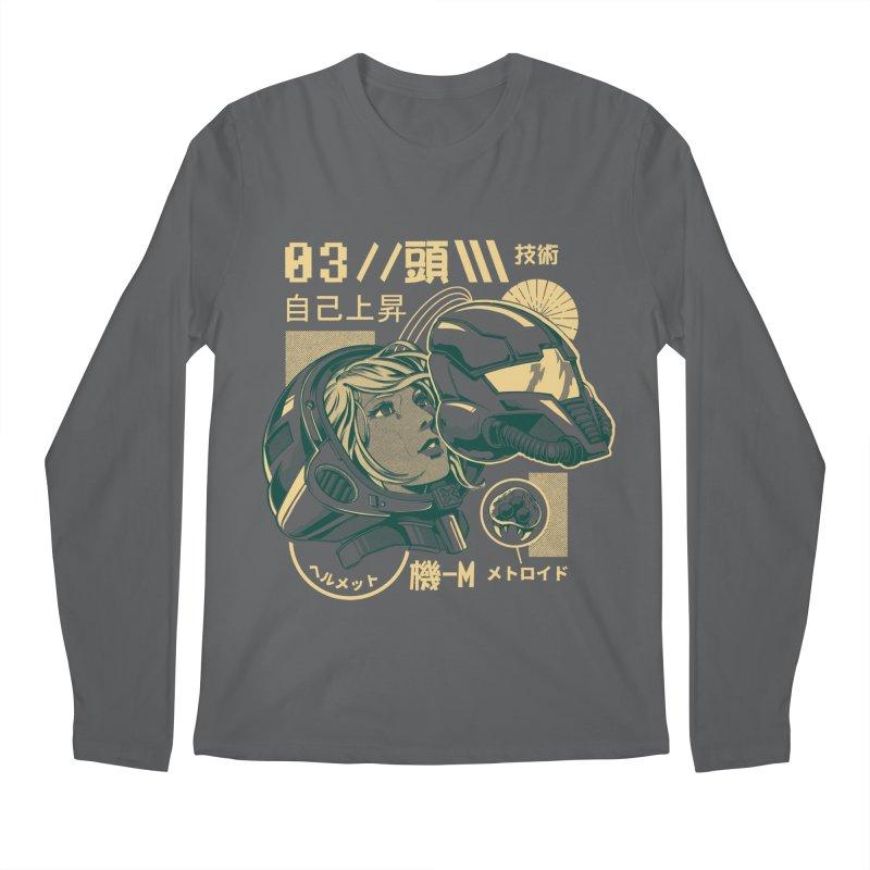S-head v2 Men's Regular Longsleeve T-Shirt by ilustrata