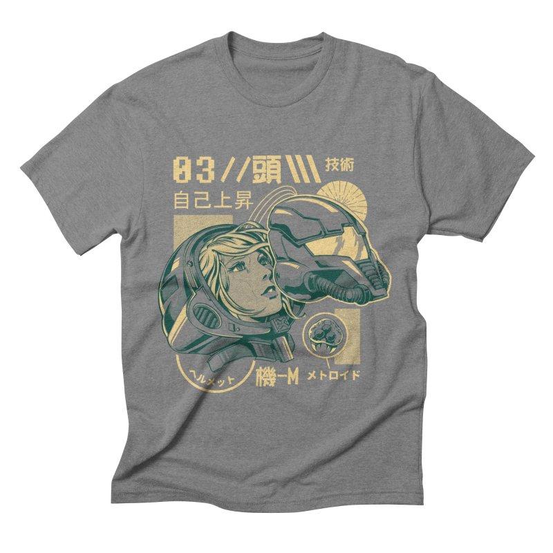 S-head v2 Men's Triblend T-Shirt by ilustrata
