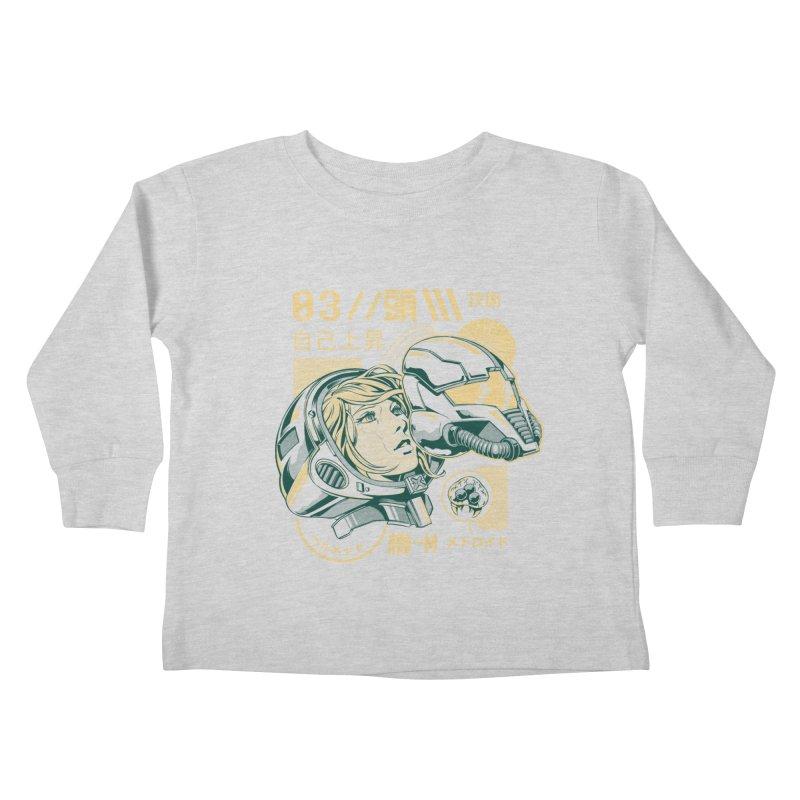 S-head v2 Kids Toddler Longsleeve T-Shirt by ilustrata