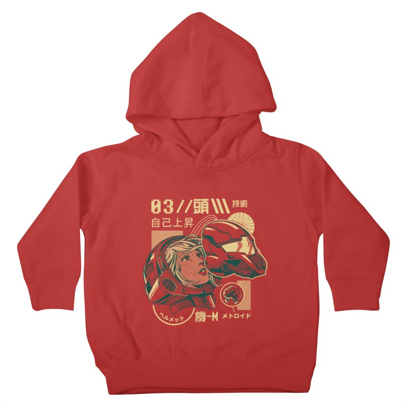S-head v2 Kids Toddler Pullover Hoody by ilustrata