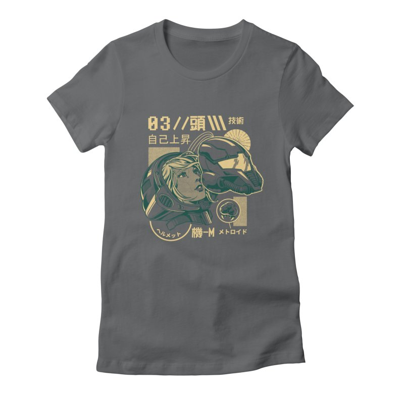 S-head v2 Women's Fitted T-Shirt by ilustrata