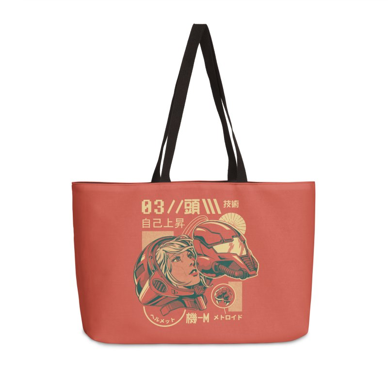 S-head v2 Accessories Weekender Bag Bag by ilustrata