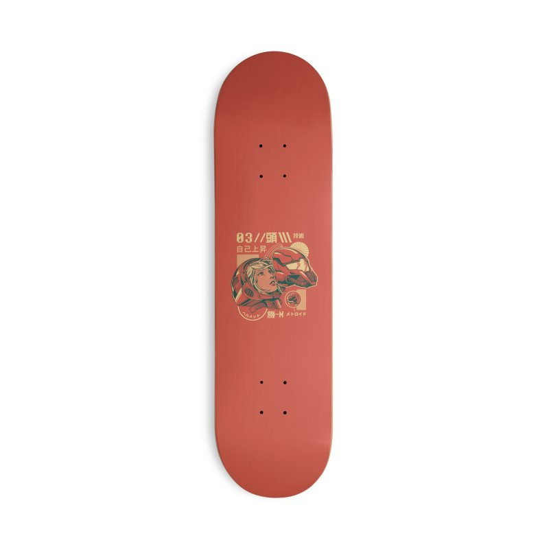 S-head v2 Accessories Deck Only Skateboard by ilustrata