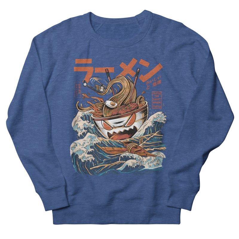 The black Great Ramen Men's Sweatshirt by ilustrata