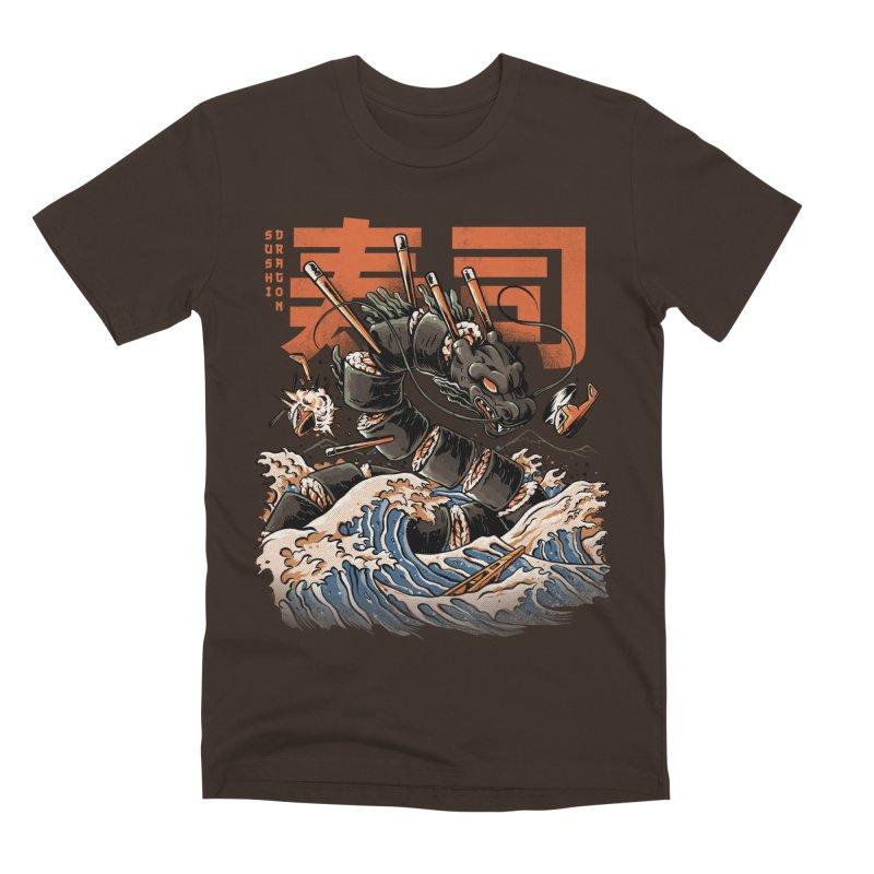 The Black Sushi Dragon Men's Premium T-Shirt by ilustrata