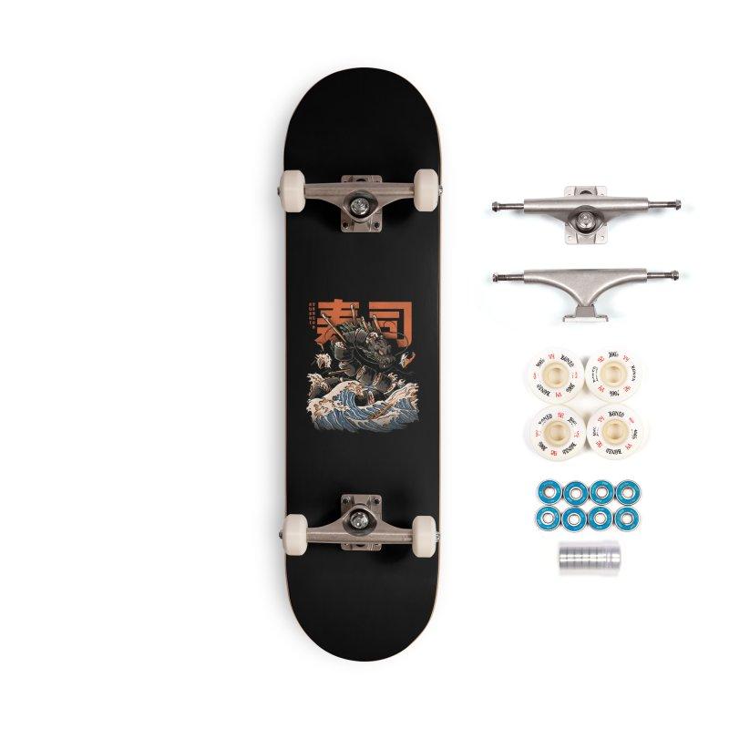 The Black Sushi Dragon Accessories Complete - Premium Skateboard by ilustrata