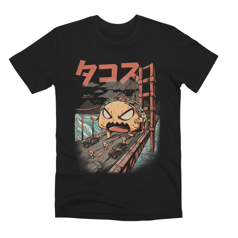 The Black Takaiju Men's Premium T-Shirt by ilustrata