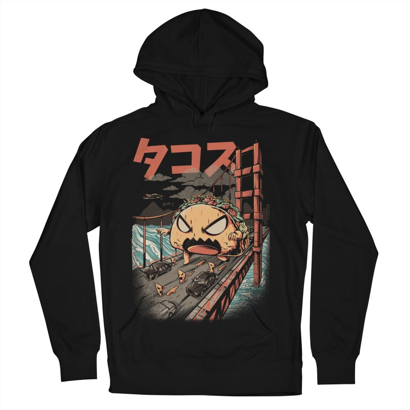 The Black Takaiju Men's French Terry Pullover Hoody by ilustrata