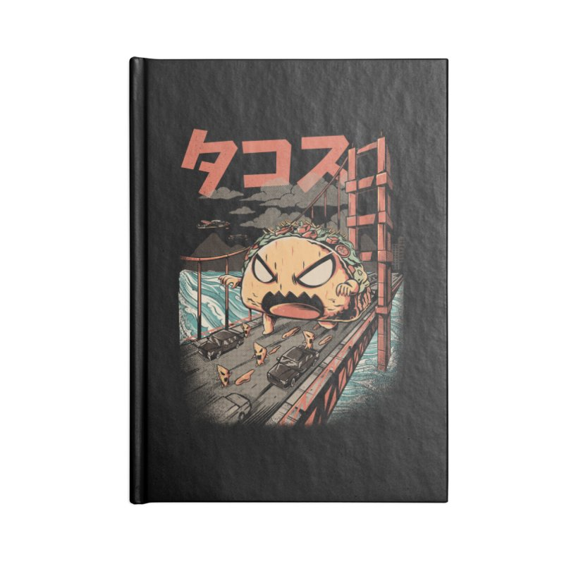 The Black Takaiju Accessories Blank Journal Notebook by ilustrata