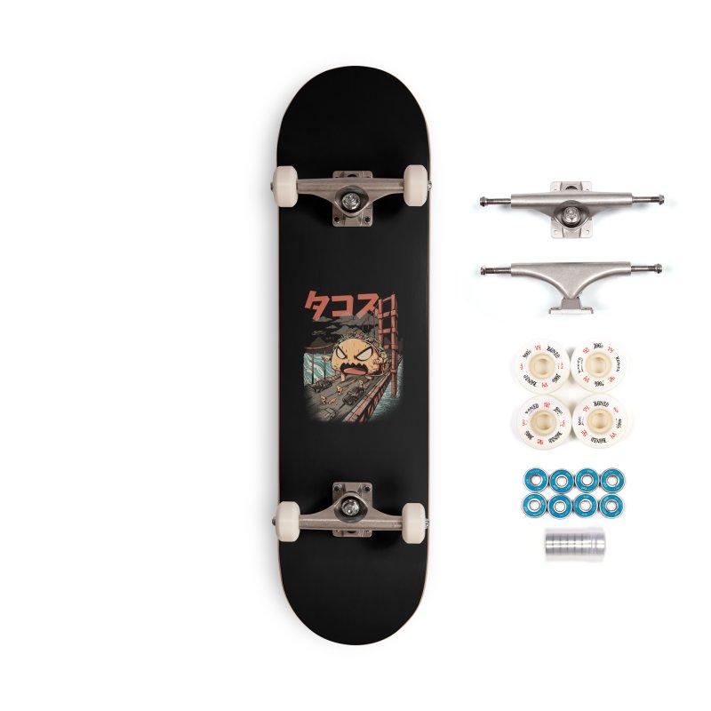 The Black Takaiju Accessories Complete - Premium Skateboard by ilustrata