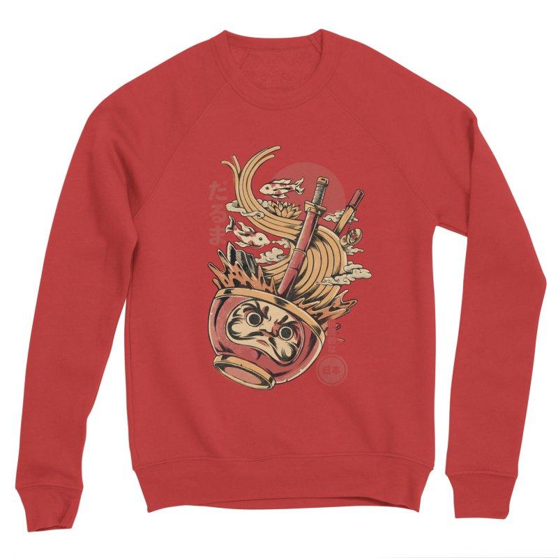 Daruma's Ramen Men's Sponge Fleece Sweatshirt by ilustrata