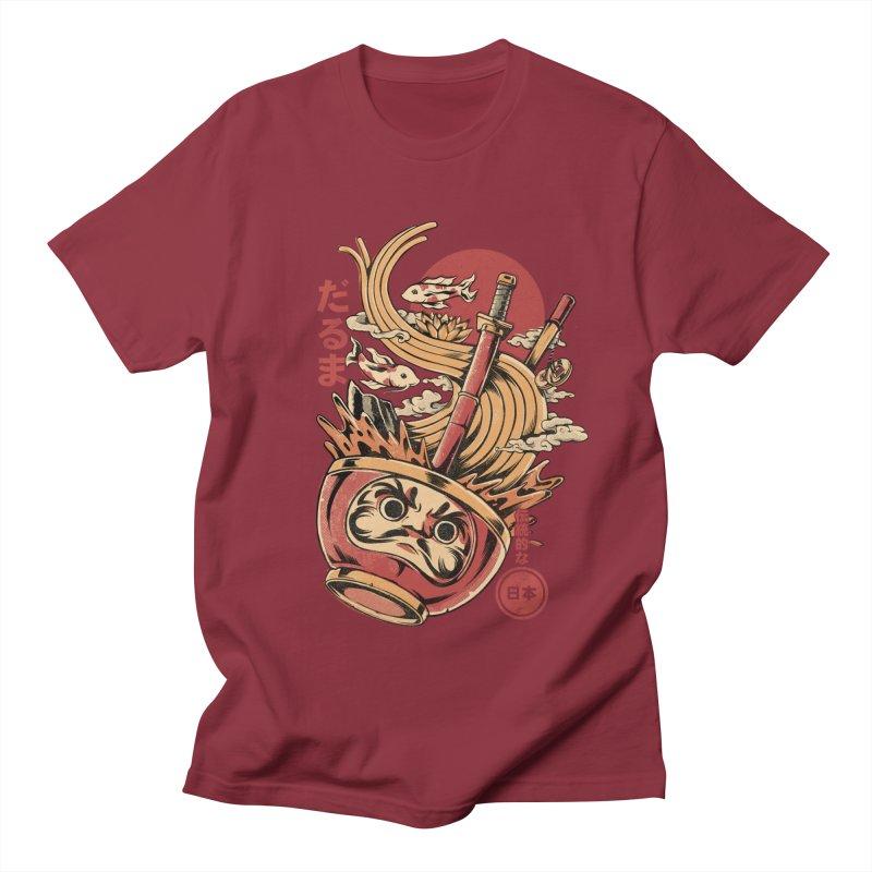 Daruma's Ramen Men's Regular T-Shirt by ilustrata