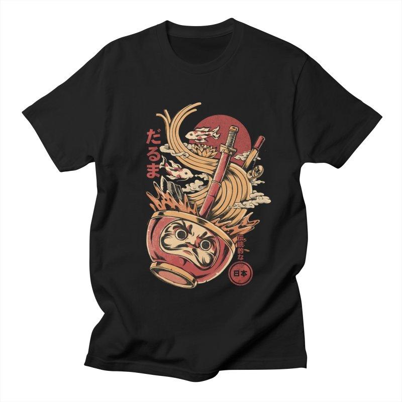 Daruma's Ramen Women's Regular Unisex T-Shirt by ilustrata