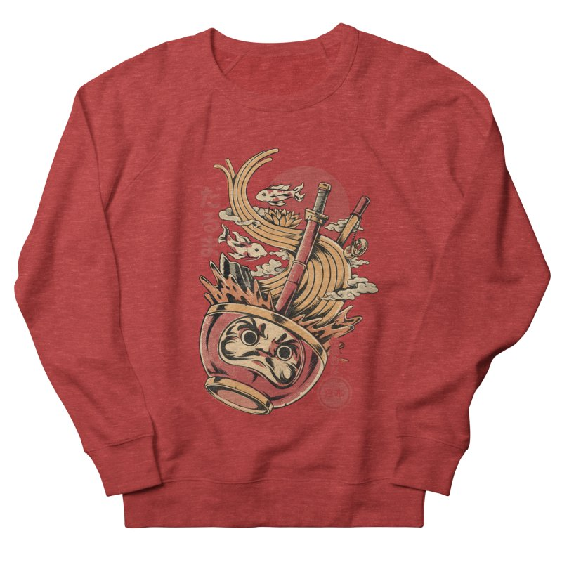 Daruma's Ramen Men's Sweatshirt by ilustrata