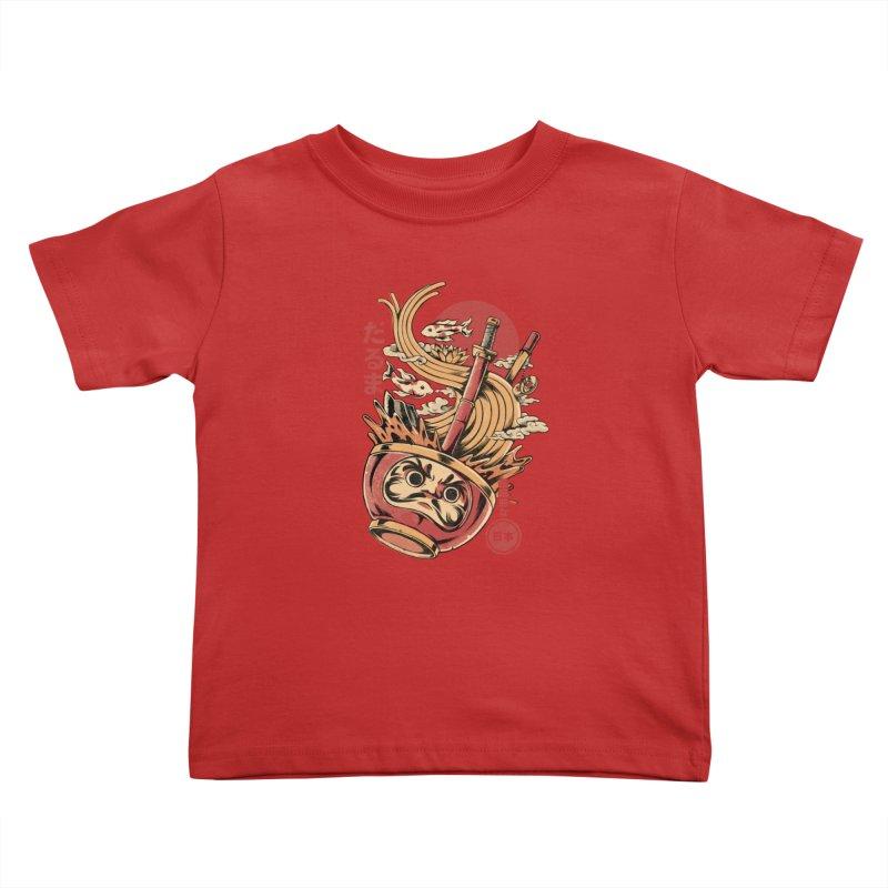 Daruma's Ramen Kids Toddler T-Shirt by ilustrata