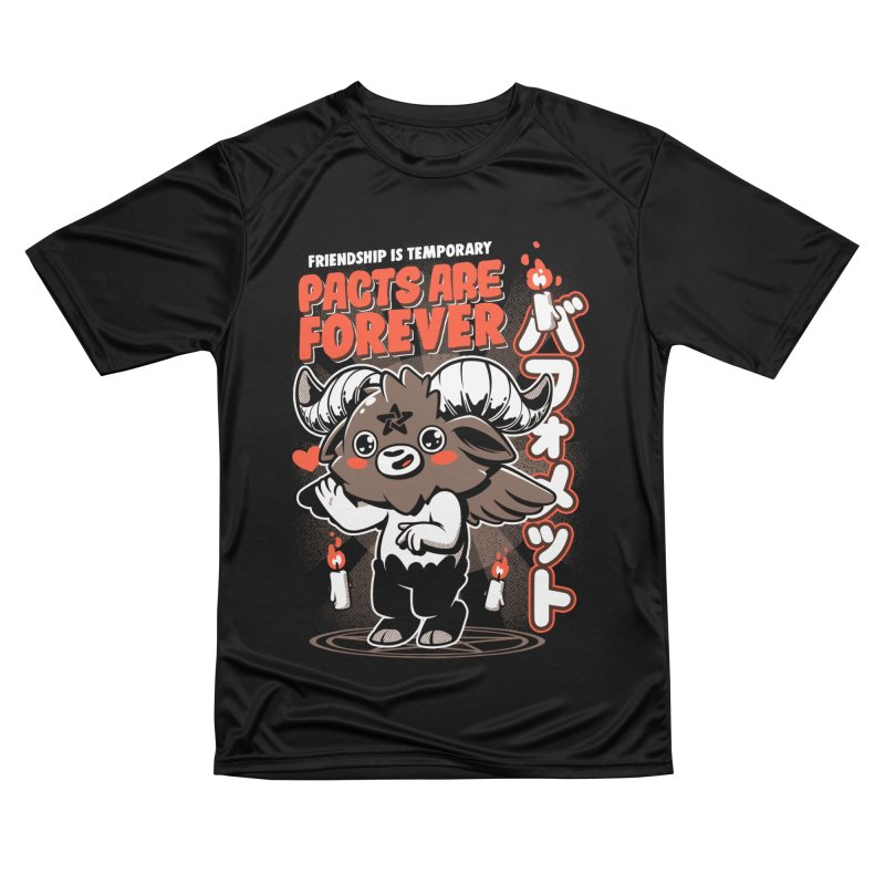 Pacts Are Forever - Black Men's Performance T-Shirt by ilustrata