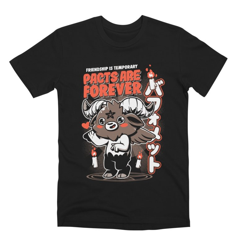 Pacts Are Forever - Black Men's T-Shirt by ilustrata