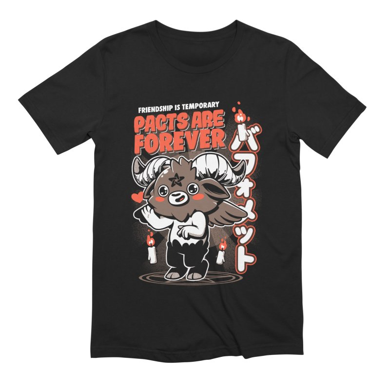 Pacts Are Forever - Black Men's Extra Soft T-Shirt by ilustrata